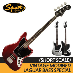 스콰이어 VINTAGE MODIFIED JAGUAR BASS SPECIAL SS (SHORT SCALE)